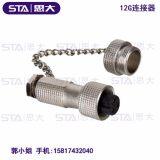 MAOJWEI重强12G-4AB金属防水插头-思大电子