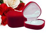 首饰包装盒 心形饰品包装盒 戒指礼品盒单戒对戒盒单个价