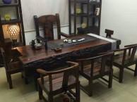 老船木大船龙骨高档霸气茶桌别墅茶台可打造心目中的家