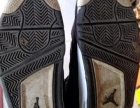 乔13乔4正版牛皮篮球鞋