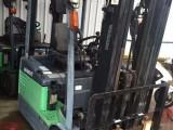 直销二手进口环保电瓶叉车 丰田1.5吨 三支点电动叉车