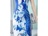 惠州缎面夏装旗袍-东莞缎面夏装旗袍-品质高远-实力超群