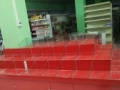 水果蔬菜货架糖果干果货架钛合金展柜木质展柜
