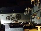 酒吧式餐厅转让 客源多 租金低 店内装修配套齐全
