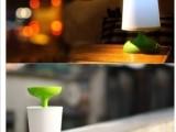 太阳能盆栽灯 太阳能台灯 光合盆栽 LED灯 护眼台灯 新奇礼物