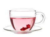 花间道带碟小把杯花茶耐热玻璃茶具咖啡杯小品茗杯子玻璃杯