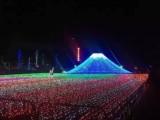 梦幻灯光节展览策划灯光节活动设计苗迎港