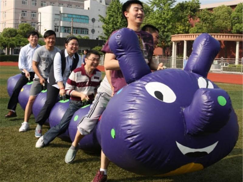 趣味运动会加入到东莞松湖生态园农家乐的行程中啦!