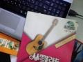 【搞定了!】刚买的41寸吉他 几乎全新 学不会低价