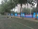 西安校园运动场围栏广告 西安高校户外媒体