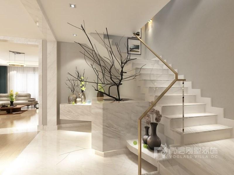 成都最好的别墅装修公司尚层装饰润富国际软装设计现代风格效果图