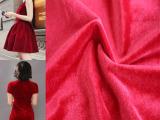 厂家直销 现货批发 高档金丝绒韩国绒净素色 经编不倒绒面料