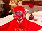 2017新款秀禾服刺绣红色新娘中式敬酒服