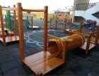 河北幼儿园木质滑梯