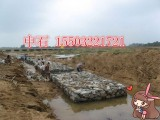 吉林护堤六角格宾网 坡脚抗冲刷格宾石笼 堤防护岸格宾笼厂家