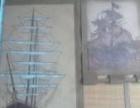 巴西牛皮画,水晶鹦鹉