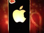 苹果iPhone4/4s手机保护套 来电闪手机保护壳 七彩LED灯发光外壳