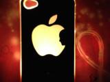 苹果iPhone4/4s手机保护套 来电闪手机保护壳 七彩LED