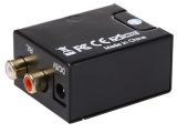数字转模拟音频同轴信号转莲花音频转换器TV电视光纤Spdif转R