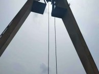 山东泰安出售亨展品牌二手起重机5吨10吨16吨龙门吊