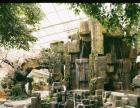 制作塑石:假山、假树、仿木栏杆、长廊、凉亭生态酒店