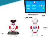 威朗餐饮行业机器人是用于餐厅里的智能送餐传菜迎宾机器人服务员