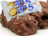 韩国X5榛子 花生 夹心 巧克力棒 36g*18根/盒 进口食品