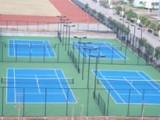 网球场 硅PU网球场 丙烯酸网球场施工