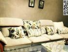 家居窗帘布艺软装设计 窗帘和沙发套的定做