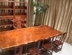 花梨实木家具办公桌会议桌书桌茶桌茶台大班台老板桌