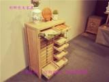 普洱茶架子免漆茶饼架展示架茶叶柜收纳柜储藏柜边柜茶水柜