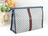 厂家供应韩国PU软皮大容量化妆包女士可爱化妆袋手包洗漱包