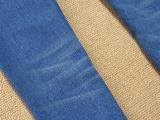 2014春季牛仔裤女新款排扣小脚铅笔裤低