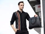 睿豪包包加工厂专业定制加工各类时尚商务皮包