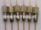 德平电子供应1000pF螺纹式Pi型穿心电容