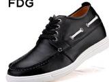 梵狄高 原创内增高鞋男 内增高男士皮鞋真皮 休闲品牌皮鞋 批发