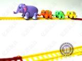 批发电动轨道玩具  趣味轨道玩具 可变轨道 地摊夜市热销玩具
