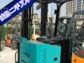 信阳2吨二手电瓶叉车,蓄电池叉车,电动平衡重叉车出售