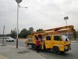 临淄经济开发区太阳能路灯实现无线物联网控制