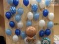 气球花草桌飘同城上门布置百日宴年会婚宴餐桌气球装饰
