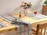 批发经典巴宝莉风格桌垫餐垫/桌旗/碗垫家居风情装饰