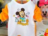 厂家直销 婴幼儿童装 春秋装长袖迪士尼卡通T恤 批发 全棉