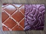 供应高档刺绣软包皮革 电脑绣花皮革 批发软包硬包移门装饰皮革