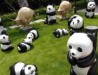 专业制作玻璃钢卡通人物,迪士尼系列熊猫租赁