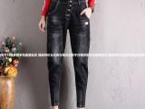 桂林最便宜尾货牛仔裤厂家直销新款尾货牛仔裤时尚潮流10元批发