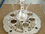 新款高档奢华合金金色8件套酒具套装 欧式仿古酒具套件 送礼 婚庆