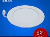 中山厂家12W圆形面板灯 嵌入式面板灯 压铸面板灯 调光面板灯