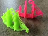 小帆船模型玩具 扭蛋玩具 抽奖玩具 小赠