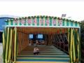 连云港定做推拉帐篷雨棚户外伸缩移动遮阳棚帆布雨篷