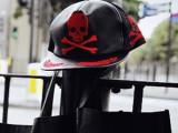 批发骷髅头帽子 男女情侣嘻哈帽 平沿帽 欧美街头休闲时尚棒球帽